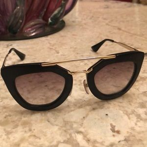 Prada Black Cinema sunglasses